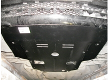 Защита двигателя Mercedes E (W211) /2002-2009, V2.7D, задний привод/. Защита картера двигателя Мерседес Е-класс [Titan]