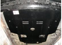 Защита двигателя Mercedes E (W211) /2002-2009, полный привод/. Защита картера двигателя Мерседес Е-класс [Titan]
