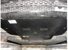 Защита двигателя Mercedes E (W211) /2002-2009, задний привод/. Защита картера двигателя Мерседес Е-класс [Titan]