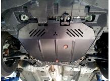 Защита двигателя Mitsubishi ASX /2010+/. Защита картера двигателя и КПП Мицубиси АСХ [Titan]