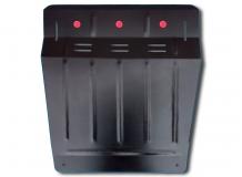 Защита двигателя Mitsubishi Pajero IV /2006+/. Защита картера двигателя и КПП Мицубиси Паджеро [Titan]