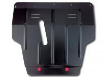 Защита двигателя Nissan Micra K12 /2003-2010/. Защита картера двигателя и КПП Ниссан Микра [Titan]