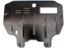 Защита двигателя Nissan Murano Z50 /2002-2008/. Защита картера двигателя и КПП Ниссан Мурано [Titan]
