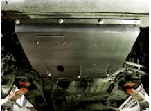 Защита двигателя Peugeot Boxer I /1994-2006/. Защита картера двигателя и КПП Пежо Боксер [Titan]