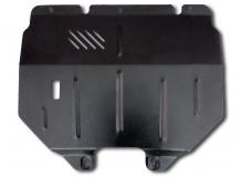 Защита двигателя Renault Kangoo I /1998-2005/. Защита картера двигателя и КПП Рено Кенго [Titan]