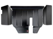 Защита двигателя Seat Alhambra I (7M) /1996-2010, кроме V1.8/. Защита картера двигателя и КПП Сеат Алхамбра [Titan]