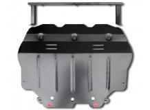 Защита двигателя Seat Altea Freetrack /2007-2015/. Защита картера двигателя и КПП Сеат Альтеа Фритрек [Titan]