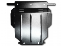 Защита двигателя Seat Leon I (1M) /1998-2006/. Защита картера двигателя и КПП Сеат Леон [Titan]