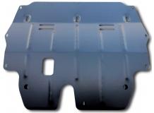 Защита двигателя Skoda Fabia II /2007-2014/. Защита картера двигателя и КПП Шкода Фабия [Titan]
