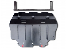 Защита двигателя Skoda Octavia A5 /2004-2013/. Защита картера двигателя и КПП Шкода Октавия [Titan]