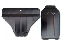 Защита двигателя Subaru Legacy V /2009-2014/. Защита картера двигателя Субару Легаси [Titan]