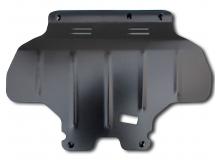 Защита двигателя Subaru Outback III /2003-2009, V2.0, V2.5/. Защита картера двигателя Субару Аутбек [Titan]