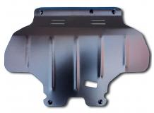 Защита двигателя Subaru Outback III /2003-2009, V3.0/. Защита картера двигателя Субару Аутбек [Titan]