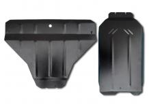 Защита двигателя Subaru Outback IV /2009-2014/. Защита картера двигателя Субару Аутбек [Titan]