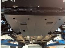 Защита двигателя Suzuki SX4 I /2005-2014/. Защита картера двигателя и КПП Сузуки СХ4 [Titan]
