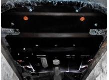 Защита двигателя Toyota Camry V40 /2006-2011, V2.4, увеличенная/. Защита картера двигателя и КПП Тойота Камри [Titan]