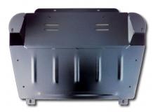 Защита двигателя Toyota Highlander I (U20) /2000-2007/. Защита картера двигателя и КПП Тойота Хайлендер [Titan]