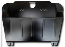 Защита двигателя Toyota Highlander II (U40) /2007-2010/. Защита картера двигателя и КПП Тойота Хайлендер [Titan]