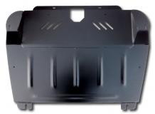 Защита двигателя Toyota Highlander II (U40) /2010-2013, FL/. Защита картера двигателя и КПП Тойота Хайлендер [Titan]