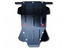 Защита двигателя VAZ 2121 Niva /1977-2006/. Защита картера двигателя, КПП и радиатора ВАЗ 2121 Нива [Titan]