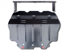 Защита двигателя Volkswagen Golf VI /2008-2012/. Защита картера двигателя и КПП Фольксваген Гольф [Titan]