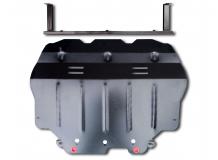 Защита двигателя Volkswagen Jetta V /2005-2010/. Защита картера двигателя и КПП Фольксваген Джетта [Titan]