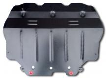 Защита двигателя Volkswagen Jetta VI /2010-2014/. Защита картера двигателя и КПП Фольксваген Джетта [Titan]