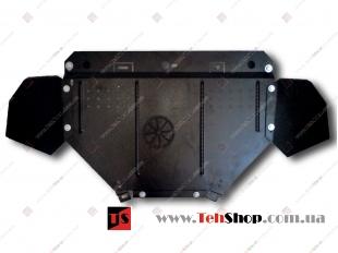 Защита двигателя Volkswagen Passat B5 /1996-2005, V2.3 и менее/. Защита картера двигателя Фольксваген Пассат [Titan]