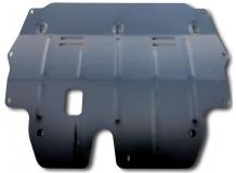 Защита двигателя Volkswagen Polo V /2009+, V1.6 Седан Калуга/. Защита картера двигателя и КПП Фольксваген Поло 5 [Titan]